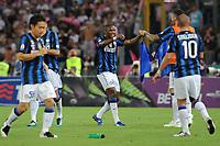 Esultanza Eto'o (Inter) dopo il gol<br /> Inter vs Palermo<br /> Tim Cup, finale di Coppa Italia di calcio<br /> Stadio Olimpico, Roma, 29/05/2011<br /> Photo Antonietta Baldassarre Insidefoto