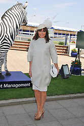 CAROL VORDERMAN at the Investec Derby at Epsom Racecourse, Epsom Downs, Surrey on 4th June 2011.