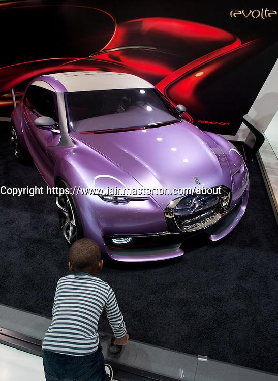 Citroen Revolte at Paris Motor Show 2010
