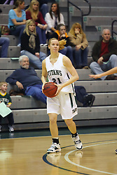 10 January 2009: Nikki Preston. The Lady Titans of Illinois Wesleyan University downed the and Lady Thunder of Wheaton College by a score of 101 - 57 in the Shirk Center on the Illinois Wesleyan Campus in Bloomington Illinois.