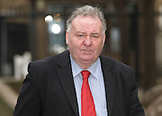 Picture by Mark Larner/Central News. Picture shows former Labour MP Jim Devine outside Southwark Crown Court 09/02/2011..He stands accused of using fake invoices to claim £3,240 for cleaning services in his second home between July 2008 and April 2009, as well as £5,500 for office stationery claimed last March..He was later jailed.