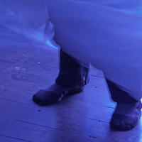 Ghost Feet Blue