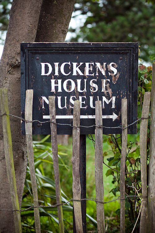 'Dickens House' museum, Broadstairs, Kent