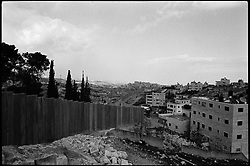 Israel's wall runs near Bethlehem in the occupied West Bank.