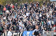 FUDBAL, BEOGRAD, 20. Nov. 2010. - Navijaci Partizana. Utakmica 13. kola Jelen Superlige Srbije (2010/2011) izmedju Cukarickog i Partizana. Foto: Nenad Negovanovic