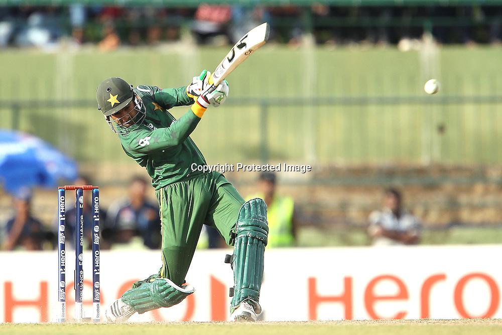 Shoaib Malik during the ICC World Twenty20 Pool match between Pakistan and New Zealand held at the  Pallekele Stadium in Kandy, Sri Lanka on the 23rd September 2012<br /> <br /> Photo by Ron Gaunt/SPORTZPICS/PHOTOSPORT
