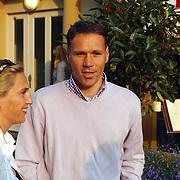 Oesters aan de Brink, Marco van Basten en partner Liesbeth van Capelleveen