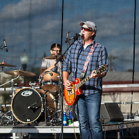 Matt Carter band performing at the 2017 Decatur Celebration on Friday August 4, 2017