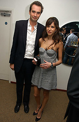 FRITZ VON WESTENHOLZ and CAROLINE SIEBER at a party to celebrate the publication of Tatler's Little Black Book 2006 held at 24, 24 Kingley Street, London W1 on 9th November 2006.<br /><br />NON EXCLUSIVE - WORLD RIGHTS