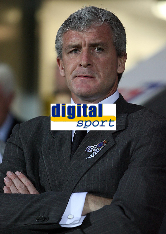 Photo: Paul Thomas.<br /> Blackburn Rovers v SV Red Bell. UEFA Cup. 28/09/2006.<br /> <br /> Brian Hughes, Blackburn manager.