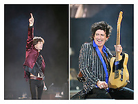 'The Rolling Stones' at the Isle of Wight Festival