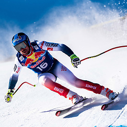 Maxence Muzaton of France at the Ski Alpin: 80. Hahnenkamm Race 2020 - Audi FIS Alpine Ski World Cup - Men's Downhill Training at the Streif on January 22, 2020 in Kitzbuehel, AUSTRIA. (Photo by Horst Ettensberger/ESPA/CSM/Sipa USA) - Kitzbuhel (Autriche)
