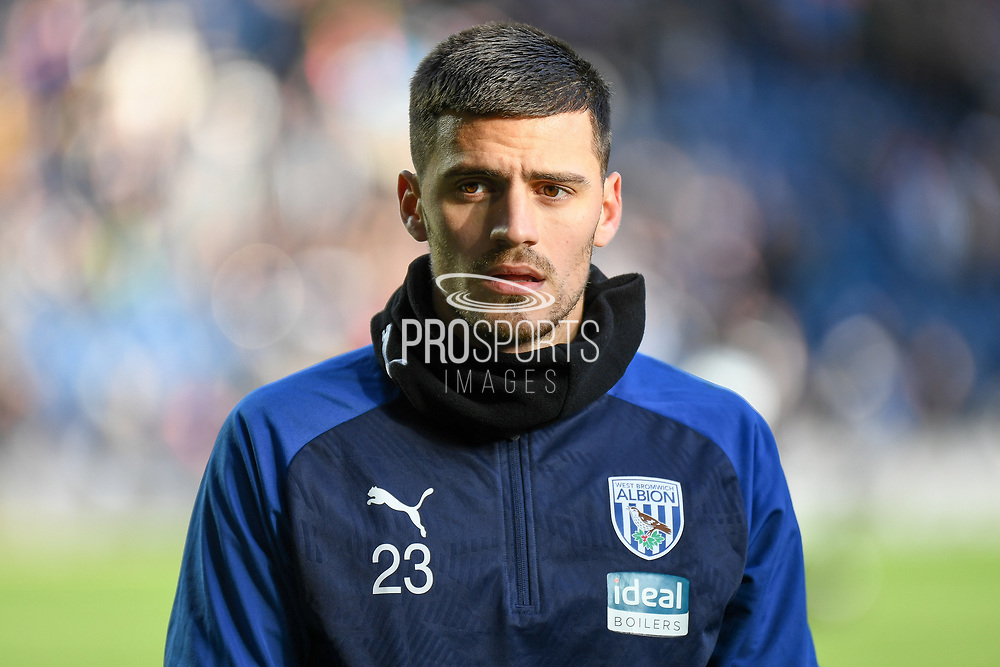 West Bromwich Albion goalkeeper Jonathan Bond (23) during the EFL Sky Bet Championship match between West Bromwich Albion and Swansea City at The Hawthorns, West Bromwich, England on 8 December 2019.
