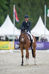 Thomsen Peter (GER) - Horseware's Barny <br /> Dressage<br /> CCI3*  Luhmuhlen 2014 <br /> © Hippo Foto - Jon Stroud