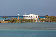 Home along the north point of Eleuthera Island, The Bahamas.