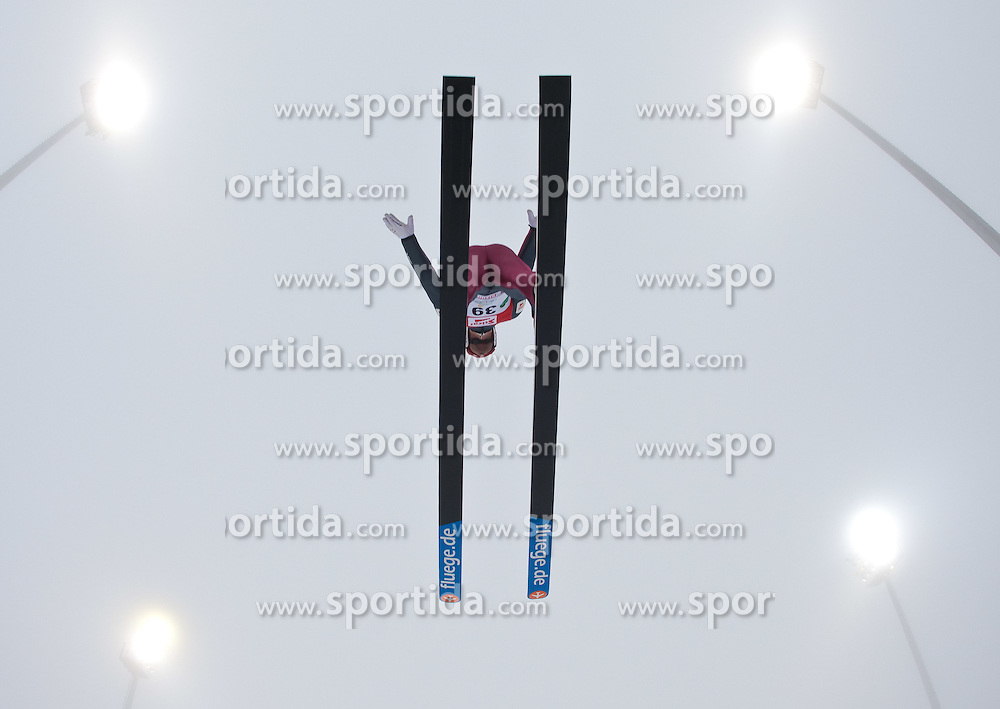 11.12.2011, Ramsau am Dachstein, AUT, FIS Nordische Kombination, Ski Sprung, im Bild Christoph Bieler (AUT) // Christoph Bieler of Austria during Ski jumping at FIS Nordic Combined World Cup in Ramsau, Austria on 2011/12/11. EXPA Pictures © 2011, PhotoCredit: EXPA/ Johann Groder