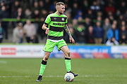 Forest Green Rovers Carl Winchester(7) during the EFL Sky Bet League 2 match between Forest Green Rovers and Lincoln City at the New Lawn, Forest Green, United Kingdom on 2 March 2019.