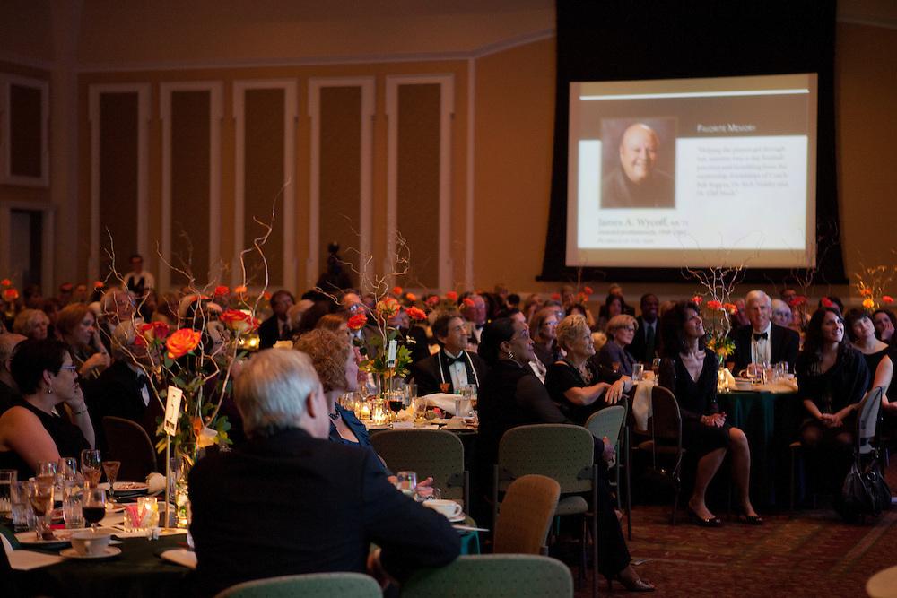 Ohio University Alumni Association's Annual Awards Gala at Baker University Center on October 11, 2013.
