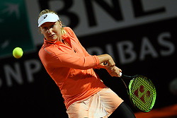 May 16, 2018 - Rome, Rome, Italy - 16th May 2018, Foro Italico, Rome, Italy; Italian Open Tennis; Daria Gavrilova (AUS) in action during her match against Garbine Muguruza (ESP)  Credit: Giampiero Sposito/Pacific Press  (Credit Image: © Giampiero Sposito/Pacific Press via ZUMA Wire)