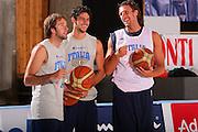 DESCRIZIONE : Bormio Raduno Collegiale Nazionale Maschile Allenamento <br /> GIOCATORE : Daniele Cavaliero Luca Vitali Luca Infante <br /> SQUADRA : Nazionale Italia Uomini <br /> EVENTO : Raduno Collegiale Nazionale Maschile <br /> GARA : <br /> DATA : 22/07/2008 <br /> CATEGORIA : Ritratto <br /> SPORT : Pallacanestro <br /> AUTORE : Agenzia Ciamillo-Castoria/S.Silvestri <br /> Galleria : Fip Nazionali 2008 <br /> Fotonotizia : Bormio Raduno Collegiale Nazionale Maschile Allenamento <br /> Predefinita :