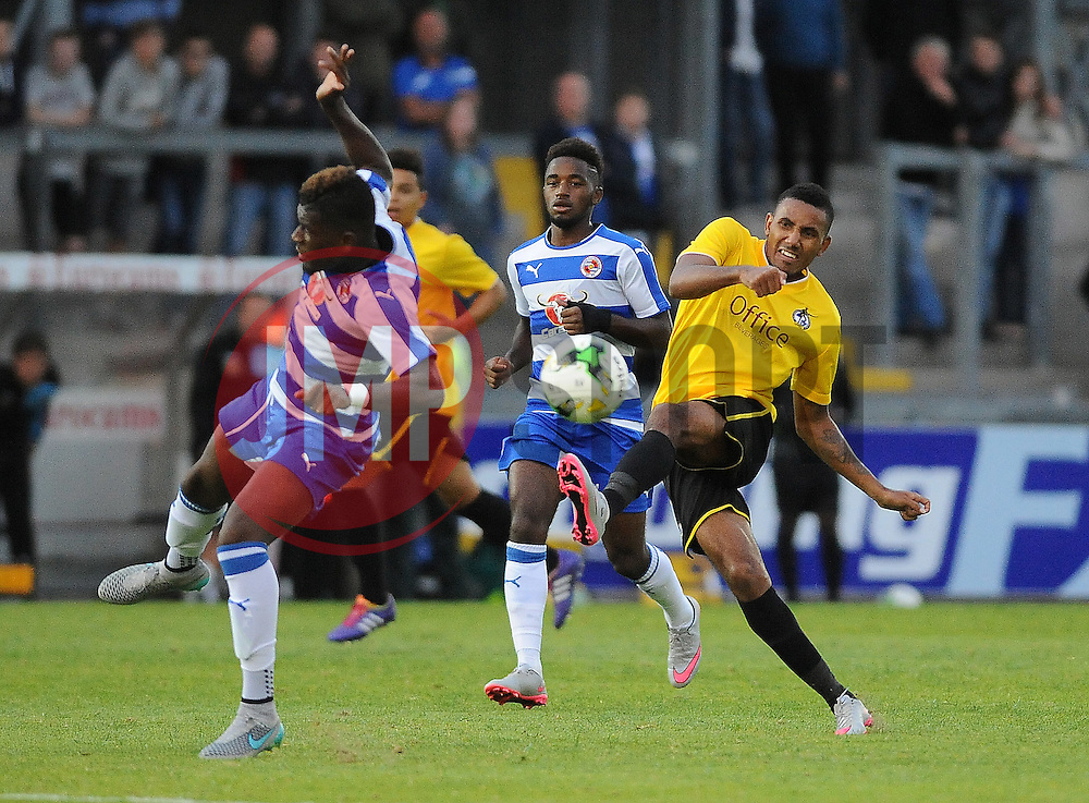 Cristian Montano of Bristol Rovers - Mandatory by-line: Neil Brookman/JMP - 21/07/2015 - SPORT - FOOTBALL - Bristol,England - Memorial Stadium - Bristol Rovers v Reading - Pre-Season Friendly