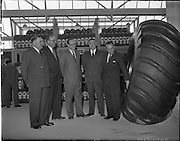 12/06/1957.06/12/1957.12 June 1957.Opening of Goodyear Rubber Company's new headquarters at Hanover Street East  which were opened  by Count Cyril McCormack, Dublin.