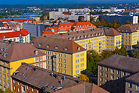 Overview of buildings, Dresden, Saxony, Germany
