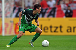 14.08.2010, Wersestadion, Ahlen, GER, Rot Weiss Ahlen vs Werder Bremen 0:4, DFB Pokal 1. Runde,  1. FBL 2010, im Bild Mesut Özil / Oezil ( Werder #11 ). EXPA Pictures © 2010, PhotoCredit: EXPA/ nph/  Kurth+++++ ATTENTION - OUT OF GER +++++ / SPORTIDA PHOTO AGENCY