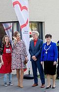 Lelystad , 20-04-2017 <br /> <br /> Queen Maxima opens Restaurant Van Harte in Lelystad.<br /> <br /> <br /> COPYRIGHT: ROYALPORTRAITS EUROPE/ BERNARD RUEBSAMEN
