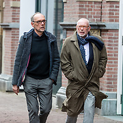 NLD/Amsterdam//20170309 - Herdenkingsdienst Guus Verstraete, Frans Mulder (r)