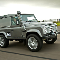 Land Rover Defender 90, The 2009 World's Fastest Land Rover competition, Bruntingthorpe test track