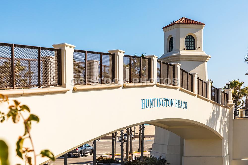 Huntington Beach Pedestrian Bridge Closeup