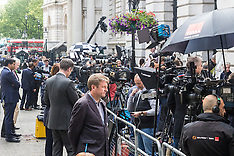 2016-07-13 World's media gather in Downing Street ahead of Cameron leaving