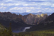 Idaho. Ship Island Lake in Idaho's Bighorn Crags; Frank Church River of No Return Wilderness