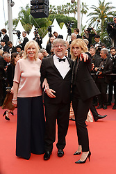 May 18, 2019 - Cannes, France - CANNES, FRANCE - MAY 18: Chantal Ladessou, Dominique Besnehard and Julie Gayet attends the screening of ''Les Plus Belles Annees D'Une Vie'' during the 72nd annual Cannes Film Festival on May 18, 2019 in Cannes, France. (Credit Image: © Frederick InjimbertZUMA Wire)