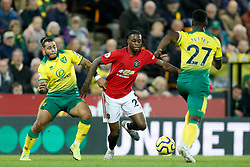 Aaron Wan-Bissaka of Manchester United - Mandatory by-line: Phil Chaplin/JMP - 27/10/2019 - FOOTBALL - Carrow Road - Norwich, England - Norwich City v Manchester United - Premier League