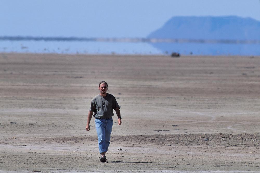 Author Atefan Nink, La Laguna Ignacio, Baja California, Mexico