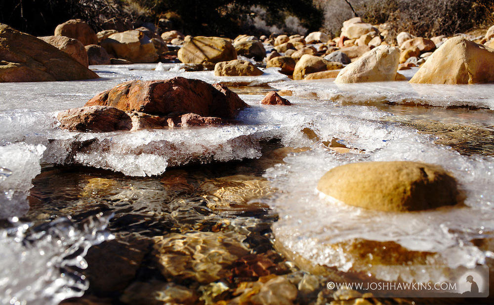First Creek at Red Rock Canyon outside Las Vegas, NV.