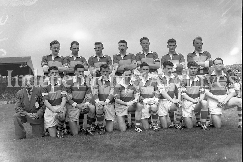 The Kerry team defeated by Down in the 1960 All-Ireland Football Final. (24/9/60) <br /> (Part of Independent Newspapers Ireland/NLI Collection)