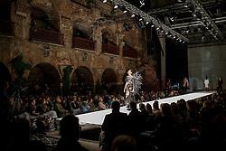 19.05.2016, Schlossberg Kasematten, Graz, AUT, Assembly Modenschau, Eröffnungsmodenschau des assembly Festival im Rahmen des Designmonat Graz, im Bild ein Model auf dem Laufsteg // A Model on the catwalk during the opening fashion show of the assembly festival at the Schlossberg, Graz, Austria on 2016/05/19, EXPA Pictures © 2016, PhotoCredit: EXPA/ Erwin Scheriau