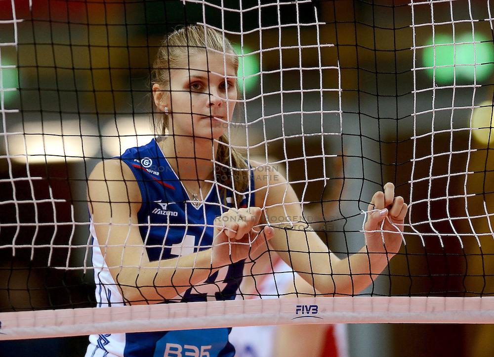 24-09-2014 ITA: World Championship Volleyball Rusland - Mexico, Verona<br /> Rusland wint met 3-0 / Irina Fetisova
