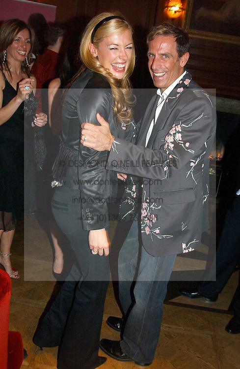CAT DEELEY and BEN DE LISI at a party hosted by jewellers Adler to celebrate 20 years in London held at 5 Cavendish Square, London on 4th May 2005.<br />