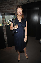 The HON.PETRONELLA WYATT at a party to celebrate the launch of Simon Sebag-Montefiore's new book - 'Jerusalem: The Biography' held at Asprey, 167 New Bond Street, London on 26th January 2011.