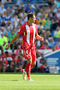 Grzegorz Krychowiak of Sevilla during the Pre-Season Friendly match between Brighton and Hove Albion and Sevilla at the American Express Community Stadium, Brighton and Hove, England on 2 August 2015. Photo by Stuart Butcher.