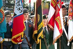 © Licensed to London News Pictures. 10/11/2013. Birmingham, UK. Birmingham Remembrance Service, Millennium Square. Photo credit : Dave Warren/LNP