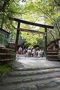Scenes at Arashiyama near the infamous bamboo grove