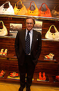 Diego Della Valle. Tod's hosts Book signing with Dante Ferretti celebrating the launch of 'Ferretti,- The art of production design' by Dante Ferretti. tod's, Old Bond St. 19 April 2005.  ONE TIME USE ONLY - DO NOT ARCHIVE  © Copyright Photograph by Dafydd Jones 66 Stockwell Park Rd. London SW9 0DA Tel 020 7733 0108 www.dafjones.com