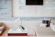 Living room at Lime Villa 4, a luxury private, ocean view villa, Koh Samui, Surat Thani, Thailand