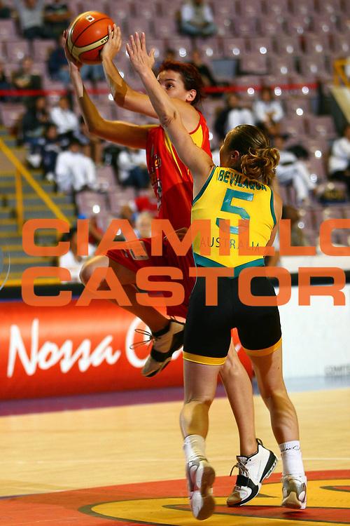 DESCRIZIONE : San Paolo Sao Paolo Brasile Brazil World Championship for Women 2006 Campionati Mondiali Donne Spain-Australia<br /> GIOCATORE : Palau<br /> SQUADRA : Spain Spagna Australia<br /> EVENTO : San Paolo Sao Paolo Brasile Brazil World Championship for Women 2006 Campionati Mondiali Donne Spain-Australia<br /> GARA : Spain Australia Spagna Australia<br /> DATA : 16/09/2006 <br /> CATEGORIA : <br /> SPORT : Pallacanestro <br /> AUTORE : Agenzia Ciamillo-Castoria/E.Castoria <br /> Galleria : world championship for women 2006<br /> Fotonotizia : San Paolo Sao Paolo Brasile Brazil World Championship for Women 2006 Campionati Mondiali Donne Spain-Australia<br /> Predefinita :