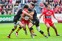 Maxime MERMOZ - 05.04.2015 - Toulon / Londres Wasps - 1/4Finale European Champions Cup<br />